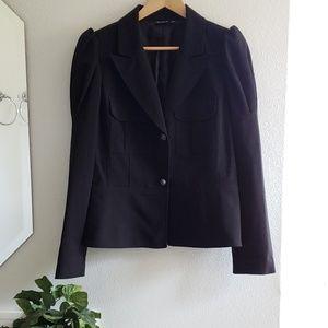 Allen B black blazer